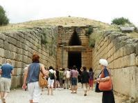 You will see the Cyclopean Walls, the Lion s Gate, the Royal Tombs, including Agamemnon Clytemnestra's, and the Treasury of Atreus, a magnificent 14th-century B.C. structure.