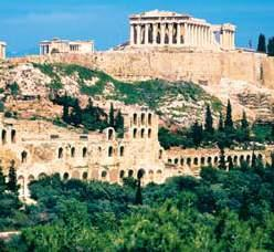 ANCIENT GREECE AND TURKEY Experience the true character and traditions of Greece and Turkey and discover the influence of prehistoric, Greco-Roman, Byzantine, Venetian and Ottoman civilizations along