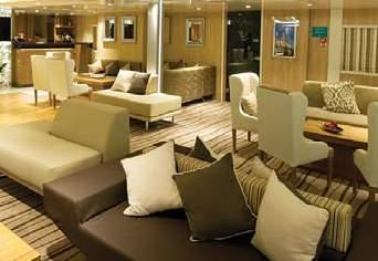 Meals featuring Mediterranean cuisine are served alfresco or in single, unassigned seatings in the ship s attractive dining room, where passengers can
