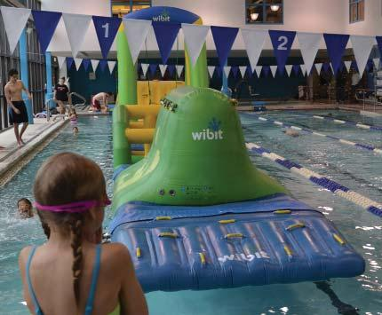 INDOOR POOL PARTIES AND COMBOS fun run splash 2 HOURS 349M/ 379NM This 65-foot floating obstacle course includes 6 stations of slippery fun that will keep your party afloat!