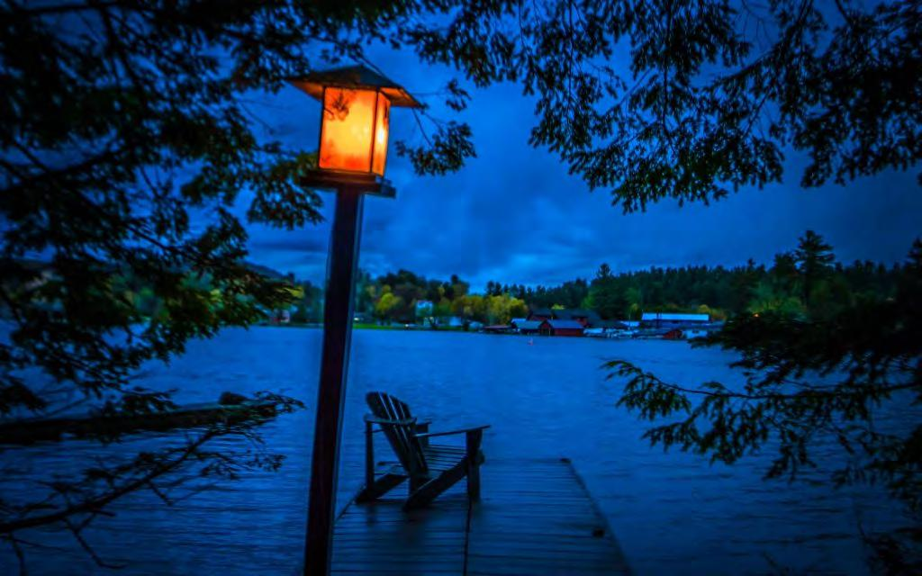 Harbor Hill Cottages, independent Lakefront cottages at Saranac Lake starting at $255. I absolutely loved staying here.