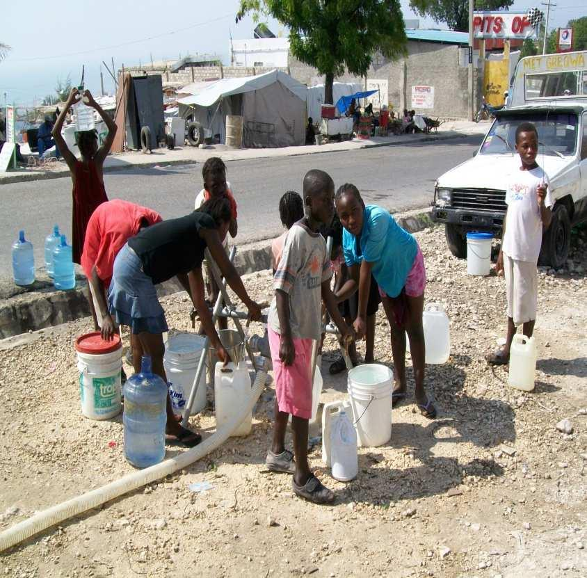 Port-au-Prince Water quality (after Jan 12,2010)?