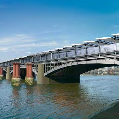 Further design development of the railway bridge has also revealed the need for some revisions to the scheme proposed in 1999; the main revisions comprise the following: of the old West Blackfriars
