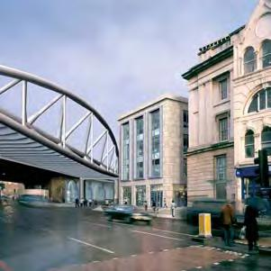 four-storey office/retail building and six terminating train platforms in order to accommodate the increased frequency of Thameslink 2000 trains, while maintaining similar service levels to Cannon