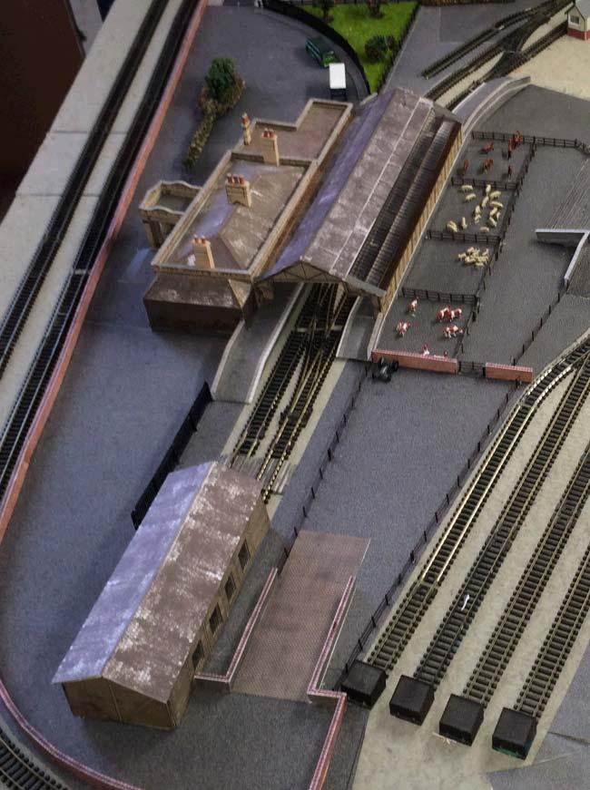 in N gauge Some views of Dave s layout so far.