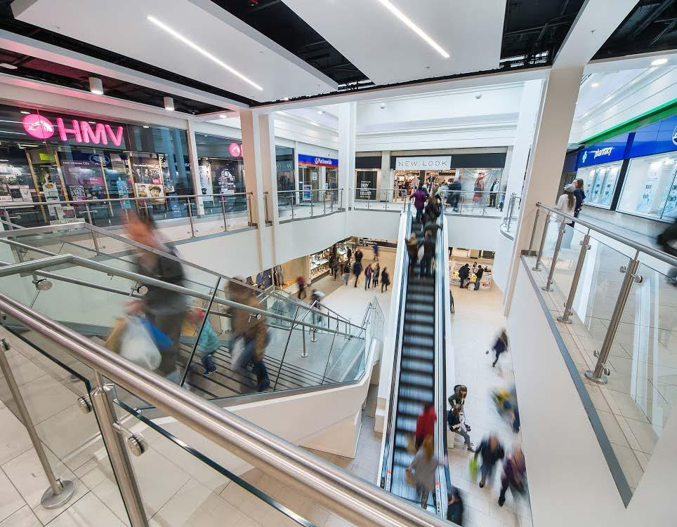DOMINANT CENTRE: THE MALL OFFERS 320,000 SQ FT OF NORTHAMPTON S PRIME RETAIL SPACE ARRANGED OVER TWO FLOORS.