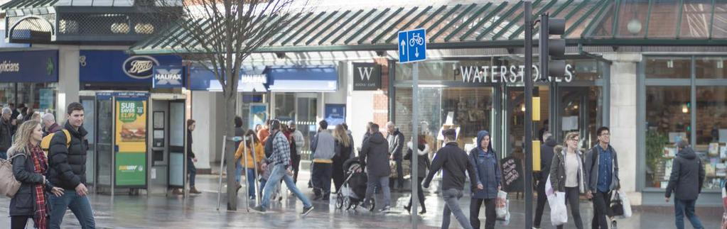 The subject property is within close proximity to the Princesshay Shopping Centre which includes retailers such as Reiss, Joules, Crew Clothing Company, Molton