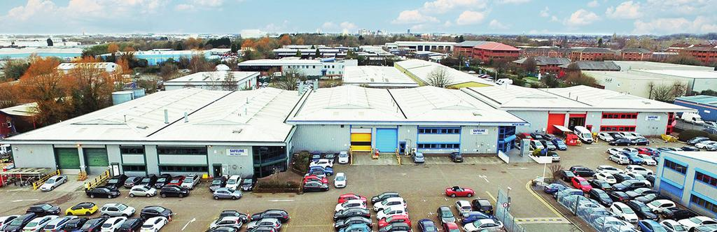 INVESTMENT SUMMARY Prime multi-let industrial estate in Salford Quays, just 2 miles west of Manchester city centre and 0.5 miles from MediaCity UK.