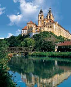 Travel along the famed Romantic Road, lined with medieval towns. Visit Bavaria s oldest monastery and Austria s Melk Abbey.