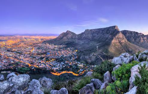 CAPE TOWN Cape Town is consistently ranked among the Top 10 cities in the world to visit by the likes of Condé Nast Traveler and Travel+Leisure magazine.