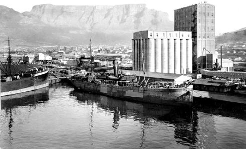 HISTORY The grain silo complex was the tallest building in Sub-Saharan Africa at 57m when it was opened in August 1924 after 3 years of construction.