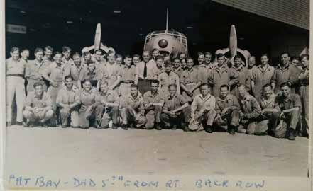 Feature Article Memories of a Pat Bay Airman Memories from James Scott, RAF Contributed by Allan Scott Images, left to right: 1. Photo at Hangar #1, RAF side, at Pat Bay Airbase.