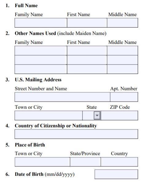 Form I-765 Item # 3: U.S. Mailing Address The address you put here is where the EAD will be mailed.