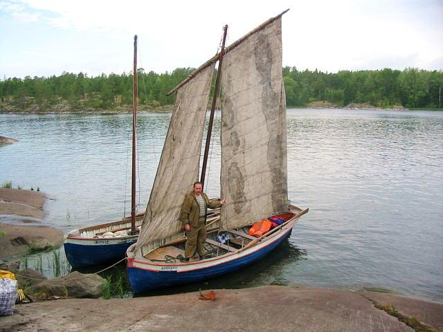 Sailing-oared boat ACTIVE
