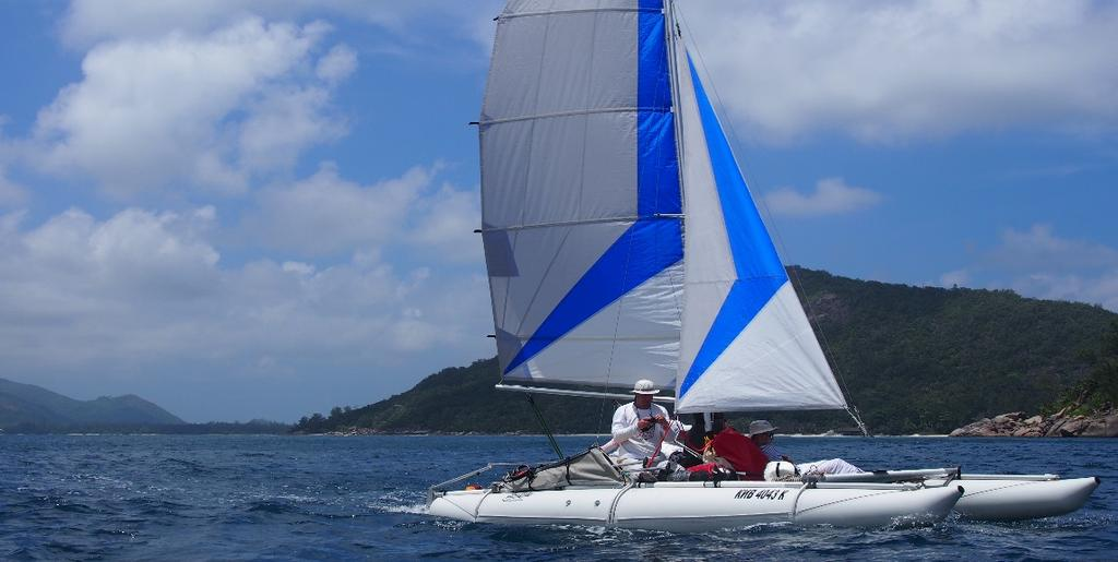 Sailing catamaran ACTIVE