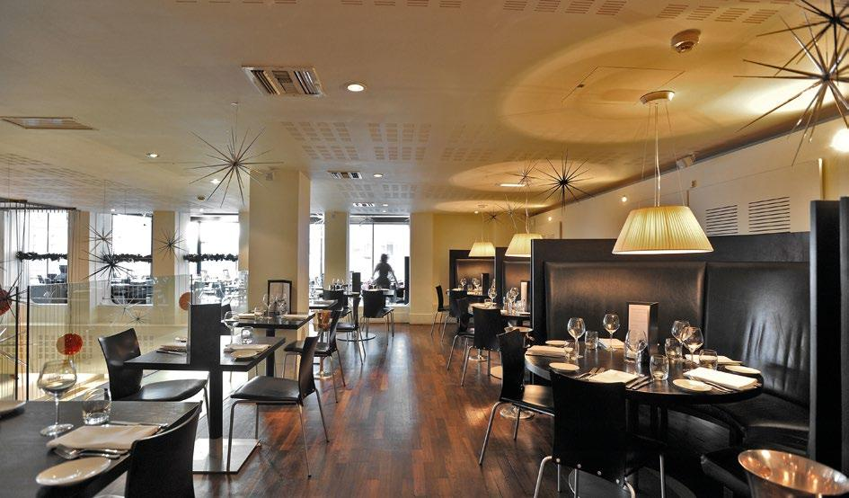 Leisure Accommodation Restaurant Bar & Grill One of Manchester s most iconic restaurants arranged over ground and first floors, together with private dining rooms at second floor.