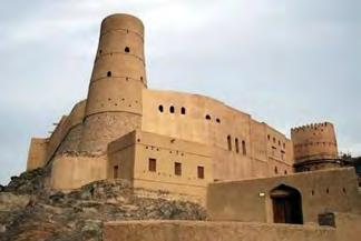Possible activity along the transfer 7km 15min Bahla Fort 1h-2h The only Omani fort recognized as a