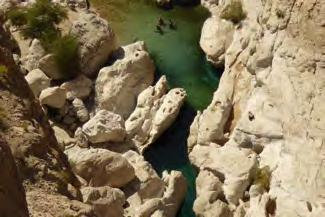 grove and the gorge of the wadi, has been developped for tourism