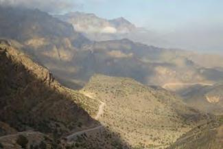 "Nearby lies the ""Grand Canyon of Arabia"" which can be explored from the bottom, by car, starting at the beautiful village of Ghul"
