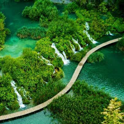 15 DAYS - BEST OF CROATIA AND THE Validity : May 2018 - Oct 2018) EAST EUROPE The extraordinary landscapes of Plitvice National Park, Croatia ITINERARY Day 1: Munich The first day of the tour is our