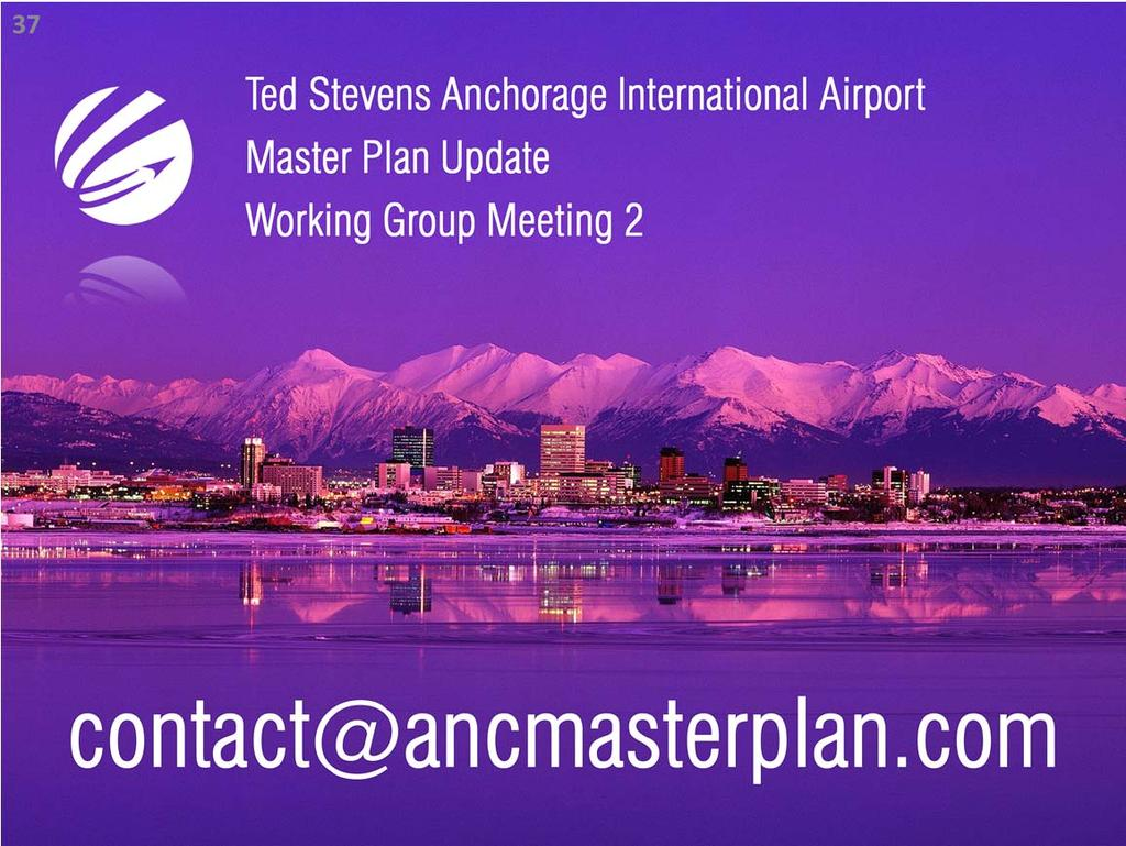 Thank you for viewing the Ted Stevens Anchorage International Airport Master Plan Update Working Group Meeting 3 presentation.