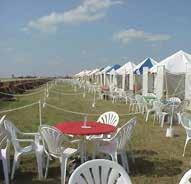 Our History Since 1979 Ohenry productions Inc. has been manufacturing heavy duty vinyl tents for the tent industry.