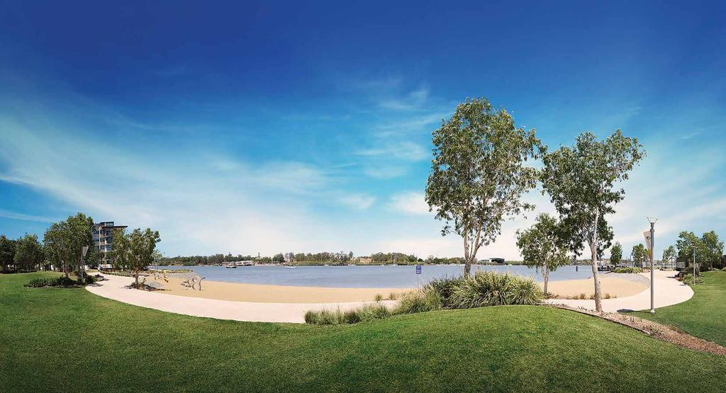 Lookout Park Live different at Hamilton Reach. Beautifully nestled amongst 2.