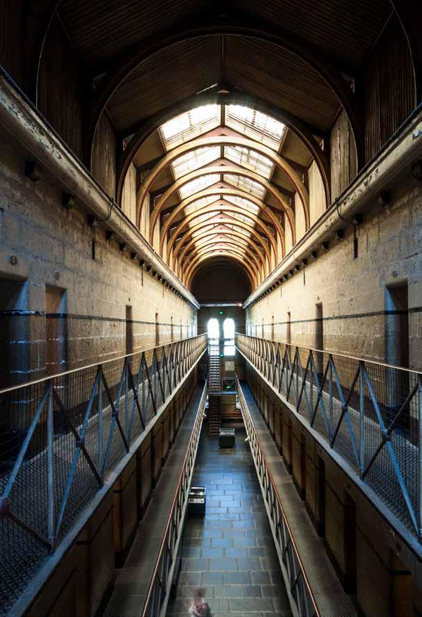 Old Melbourne Gaol The centrally located Old Melbourne Gaol is one of Melbourne s most fascinating sites.