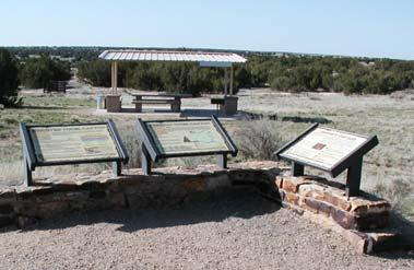 Ten interpreted heritage, paleontology, and wildlife viewing sites (Iron
