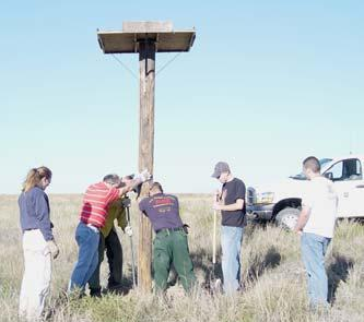 Volunteers The Comanche National Grassland s management of the Timpas Unit is enhanced by numerous volunteers who have contributed over