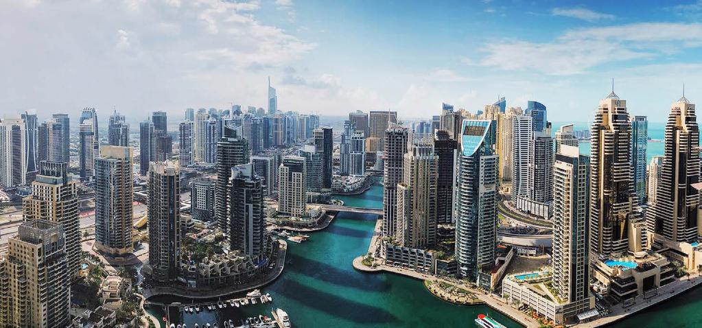 DUBAI MARINA LIFESTYLE Dubai Marina, the largest man made Marina in the world, is an affluent residential neigborhood known for its stunning