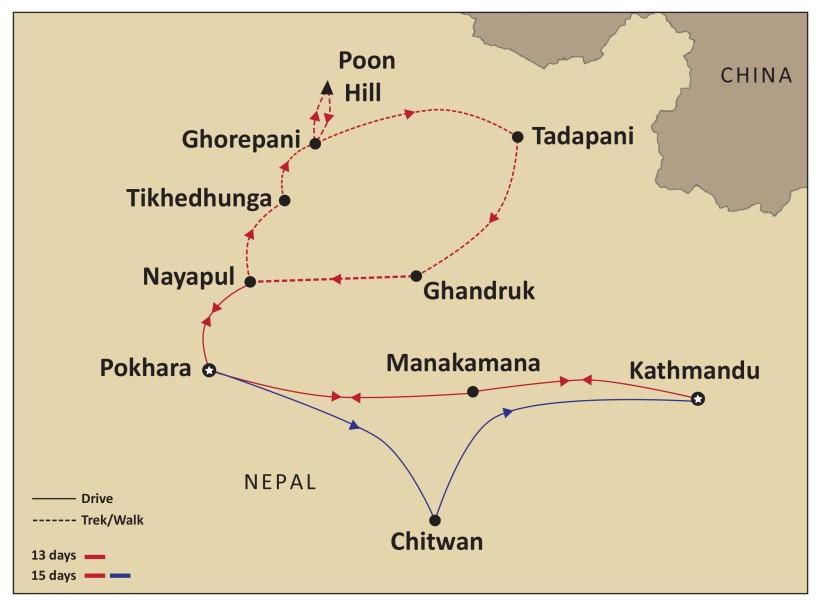 Day 1: Australia - (D) - Kathmandu Today, depart Australia for your Himalayan adventure! Welcome to Nepal.
