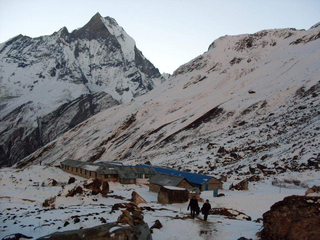 ANNAPURNA BASE CAMP (4,130m/13,550ft) TRIP OVERVIEW Annapurna Base Camp Trek combines some of the most spectacular mountain sceneries and provides you a fascinating insight into the modern hill life