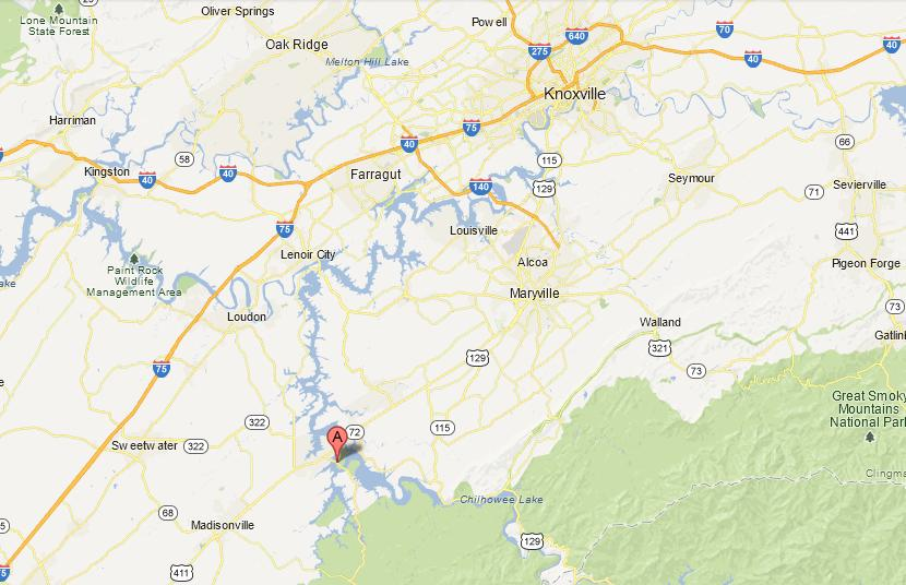 Directions Toqua District Directions From Knoxville Take I-40 West to I-75 So