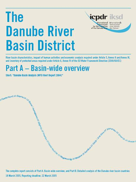 Danube River Basin Analysis Report WFD Article V Roof Report