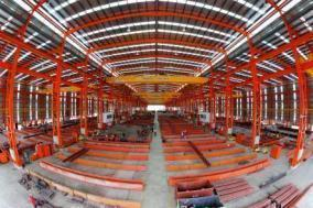 Structural Steelworks Facilities Singapore: Total Land Area: Approximately