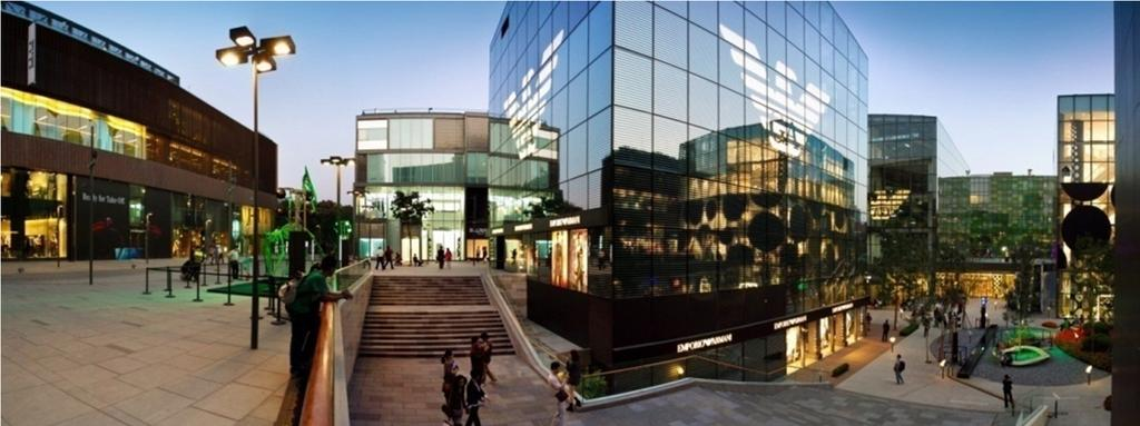 Sanlitun Village, Beijing Continuing to invest in further improvement works to enhance footfall and circulation 21 Refining and optimising retail tenant mix Rationalising the cost base and reducing