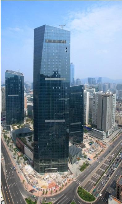 TaiKoo Hui, Guangzhou Shopping mall opened in Sep 2011, with 99% let and 84%