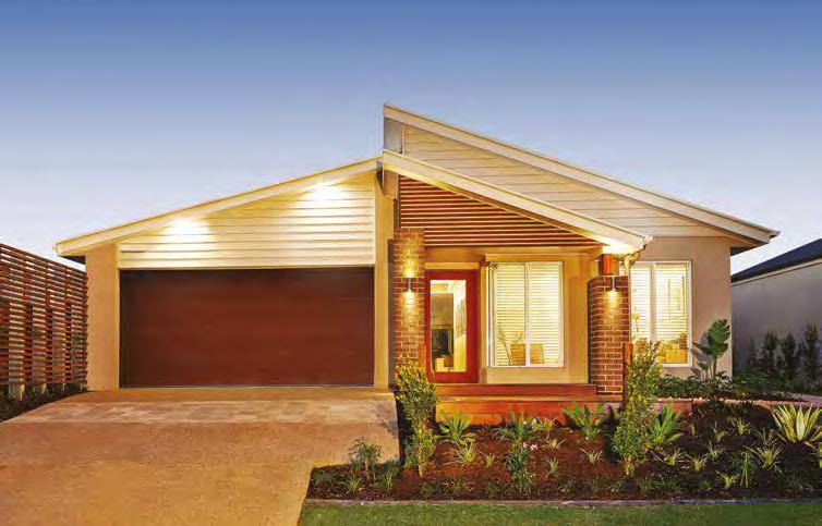 Choose the home that suits you When it comes to creating the home for your lot, you