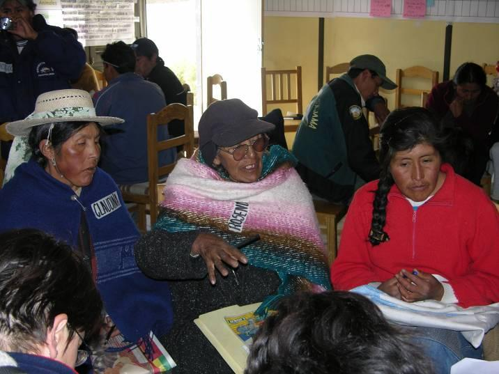 Community-based adaptation in Sajama National Park Sajama NP, located in the highlands of Bolivia (southwestern part of Oruro Department),