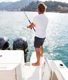 Safety ACTIV 805 PRO FISH Safety is a hallmark of Quicksilver, and no less so for the Activ 805 Pro Fish.