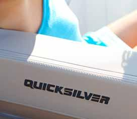 Free thinking The moment you look at a Quicksilver Activ you know that it