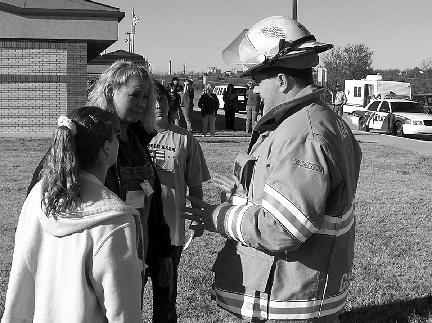 20 Chickasaw Times January 2005 Disaster drill helps Carl Albert Hospital prepare for real thing ADA, Okla.