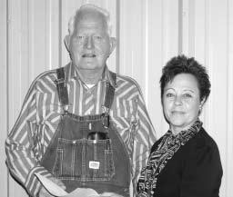 January 2005 Chickasaw Times 7 Moccasin Trail recognizes first 1,000-mile walker Moccasin Trail participant Lorne Rastus Love and Chickasaw Nation Moccasin Trail program director Anona McCullar.