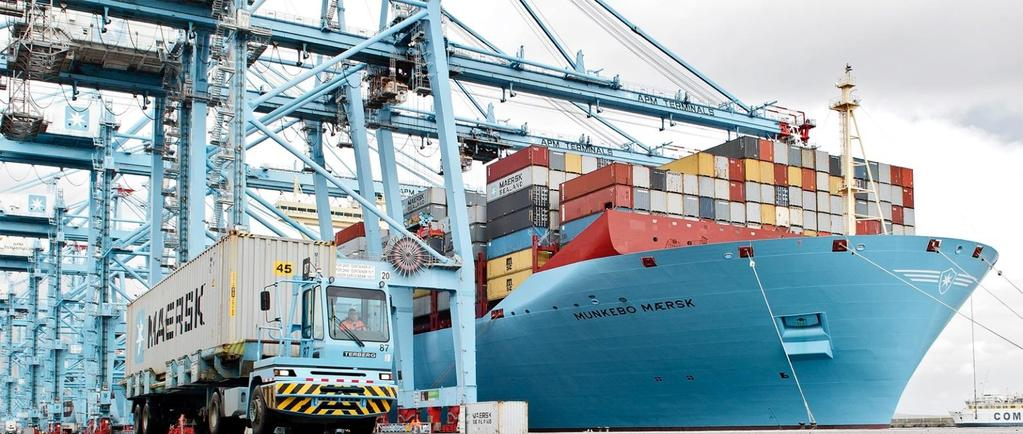 A.P. MOLLER MAERSK TRADE REPORT / T4 2017 / COLOMBIA CONTAINERIZED EXPORTS, PROTAGONISTS OF 2017 2017 Summary: Containerized foreign trade grew 5%* during 2017; Exports increased by 12%* and imports
