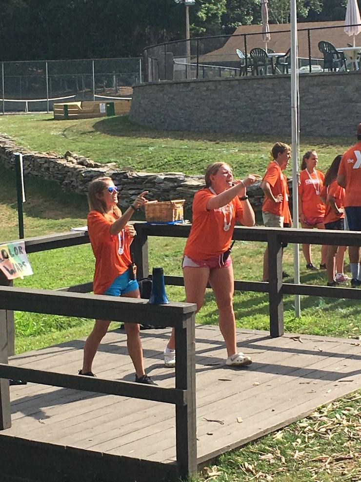 With at least eighty percent 18 years old and older, they encourage campers to try new things.