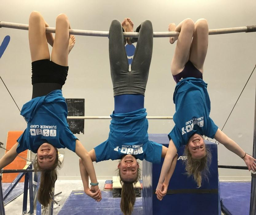 Experienced gymnasts will learn advanced skills and have time to focus on improving specific elements.