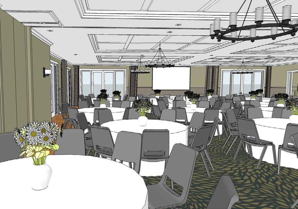 MEETINGS & EVENTS CAPACITIES & DIMENSIONS The conference and events spaces are currently under refurbishment.