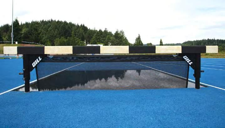 Jump Barrier w/ Surface Mount 730145B Add color and design to your steeplechase water jump with the Mesh Water Jump Barrier Seals.