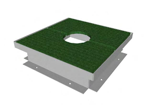10 1 2 F304 F304S F30410 Access Frame Kit-Turf Covered Access Frame Kit-Blank Metal Access Frame Only 21 F3042